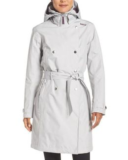 'welsey' Insulated Waterproof Trench Coat