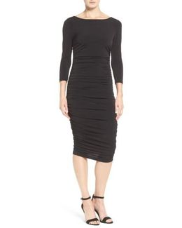 Lansbury Ruched Sheath Dress
