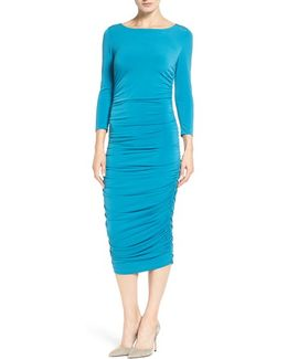 'lansbury' Ruched Sheath Dress
