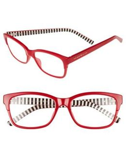 Tenil 52mm Reading Glasses - Milky Red