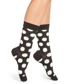 'big Dot' Crew Socks