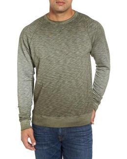 'santiago' Ombre Crewneck Sweatshirt
