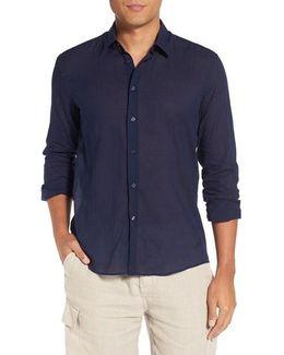 Cotton Voile Sport Shirt