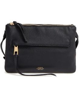 Gally Leather Crossbody Bag