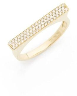 Diamond Bar Ring (nordstrom Exclusive)