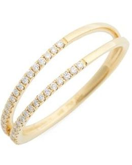 Diamond Two Row Ring (nordstrom Exclusive)