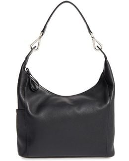 'le Foulonne' Leather Hobo Bag