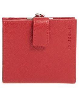 'le Foulonne' Pebbled Leather Wallet