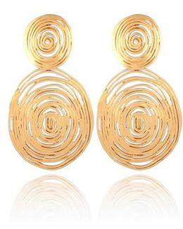 'wave' Double Drop Earrings