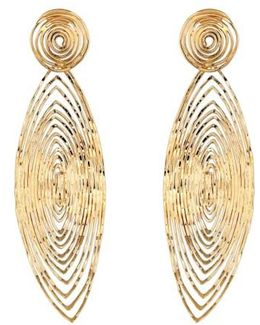 'long Wave' Drop Earrings