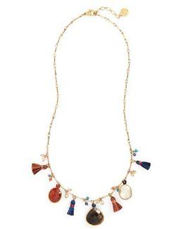 Serti Collar Necklace