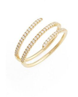 Diamond Spiral Ring (nordstrom Exclusive)
