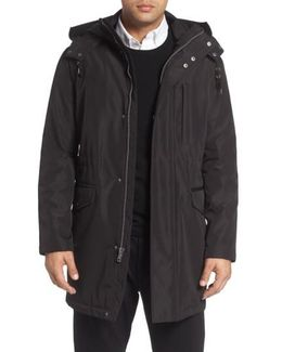 Insulated Water Resistant Car Coat