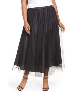 Tulle Tea Length Skirt
