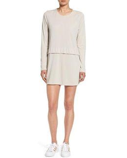 'savoy' Long Sleeve Shirtdress