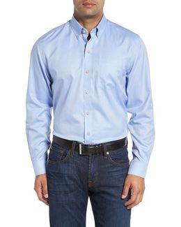 'san Juan' Classic Fit Wrinkle Free Solid Sport Shirt