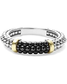 'caviar' Stacking Ring