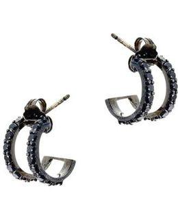 'reckless' Hoop Earrings