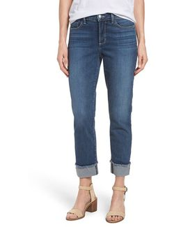 'marnie' Stretch Cuffed Boyfriend Jeans