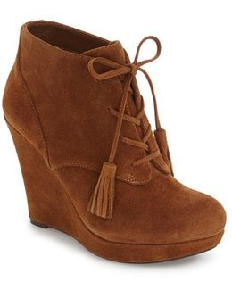 Payla Tassel Ankle Boots