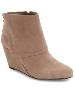 'Reaca' Cuffed Wedge Bootie
