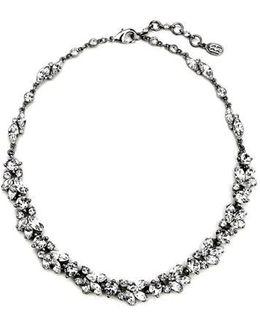 'crystal Vine' Collar Necklace