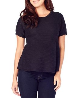 Ingrid & Isabel Boucle Maternity Top