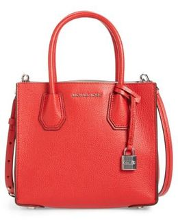 Mercer Leather Crossbody Bag
