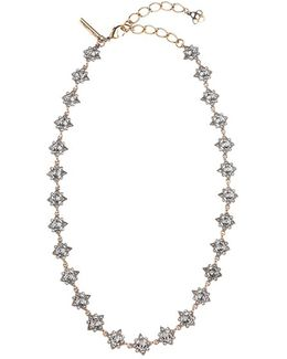 'delicate Star' Swarovski Crystal Collar Necklace