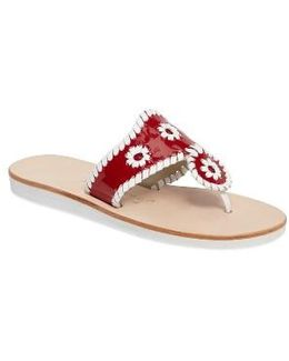 Boating Jacks Thong Sandal