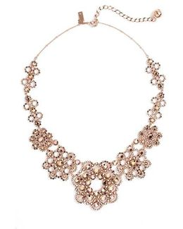 Crystal Lace Collar Necklace