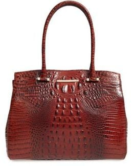 Melbourne Alice Leather Tote
