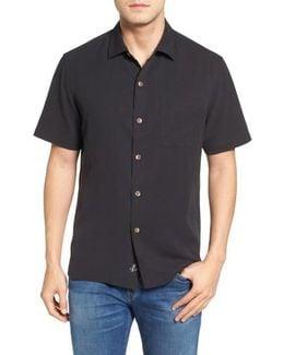 Coastal San Clemente Regular Fit Silk Camp Shirt