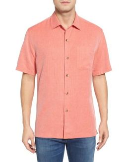Coastal San Clemente Regular Fit Silk Camp Shirt