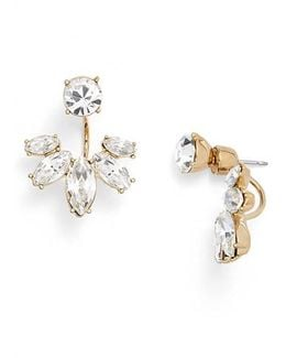 Marquise Crystal Ear Jackets