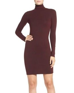 'sweeter' Turtleneck Sweater Dress