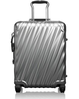 19 Degree 22 Inch Continental Wheeled Aluminum Carry-on - Metallic
