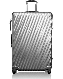 19 Degree Extended Trip Wheeled Aluminum Packing Case - Metallic