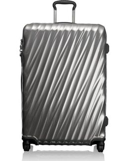 19 Degree 30 Inch Extended Trip Wheeled Packing Case - Metallic