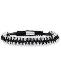 'rondelle' Cord Bracelet