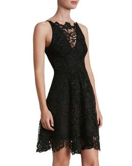 'hayden' Lace Fit & Flare Dress