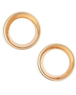 Mini Cosimo Frontal Hoop Earrings