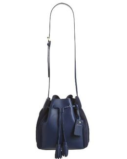 Penelope Fantasie Leather Bucket Bag
