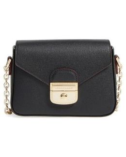 Small Le Pliage Heritage Leather Crossbody Bag