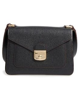 Pliage Heritage Leather Shoulder Bag