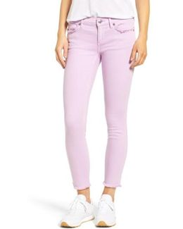 Casey Crop Fray Jeans