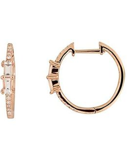 Diamond Hoop Earrings (nordstrom Exclusive)