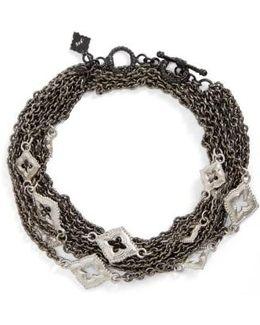 New World Double Wrap Scroll Bracelet