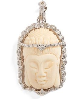 New World Buddha Bone Pendant