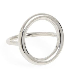 'large Halo' Ring